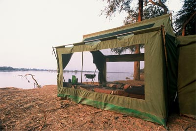 Mana Pools Tented Camp Zimbabwe
