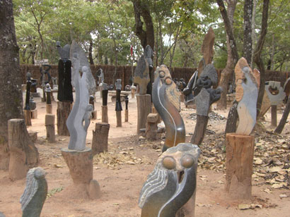 Tengenenge Art Village - beeldhouw workshop Zimbabwe