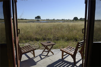 Camp Hwange in Hwange National Park Zimbabwe