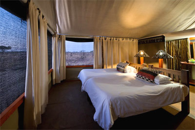 Wilderness Safaris - Davison Camp  in Hwange National Park Zimbabwe