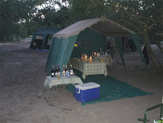 Botswana Private Camping