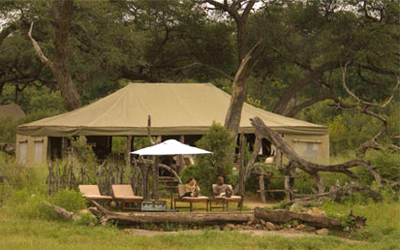 Somalisa Safari Camp in Hwange National Park Zimbabwe